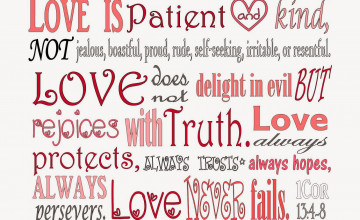1 Corinthians 13 Wallpaper