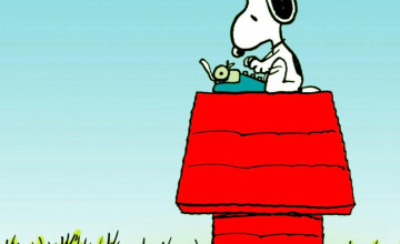 1200 x 1600 Wallpaper Snoopy