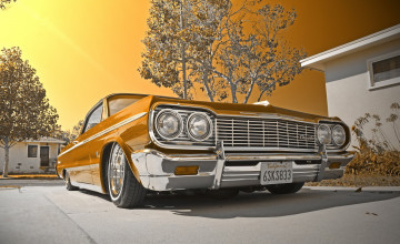 1964 Impala Lowrider Wallpaper