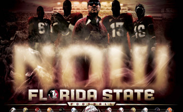 2013 FSU Football Schedule Wallpaper