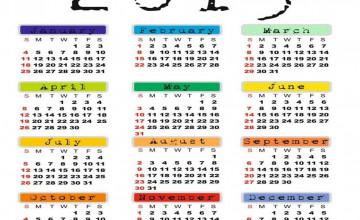 2015 Calendar Desktop Wallpaper