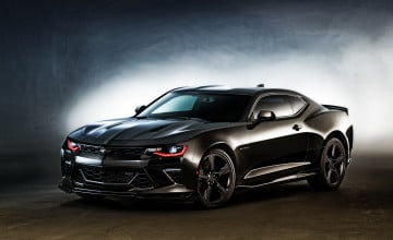 2016 Black Camaro Wallpaper