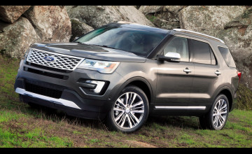 2016 Ford Explorer Wallpaper