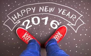 2016 Happy New Year Wallpaper
