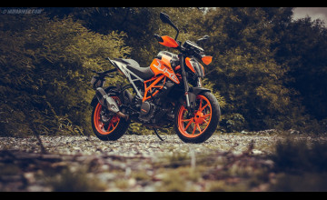 2017 KTM 390 Duke Wallpapers