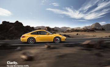 2017 Porsche 911 GTS Wallpaper