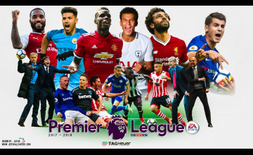 2018 English Premier League Logo HD Wallpapers