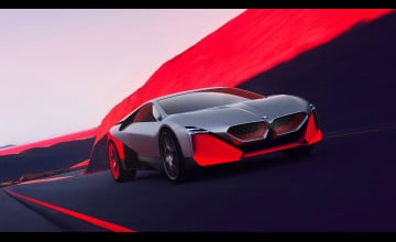 2019 BMW Vision M NEXT Sports Car Wallpapers