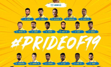 2019 CSK Players Wallpapers
