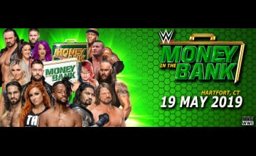 2019 WWE Money In The Bank Wallpapers