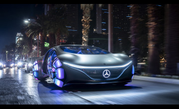 2020 Mercedes-Benz VISION AVTR Wallpapers