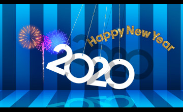 2020 New Year 4K HD Wallpapers