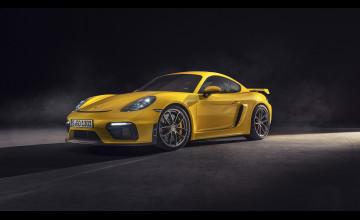 2020 Porsche 718 Cayman GT Wallpapers