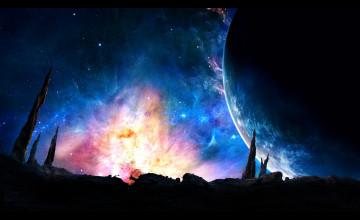 2560 x 1440 Galaxy Wallpaper
