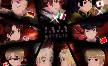 2P Hetalia Wallpaper