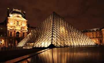 3440X1440 Louvre Wallpaper