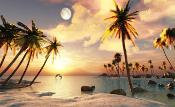 3D Beach Wallpapers for Desktop