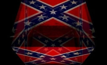 3D Confederate Flag Wallpaper