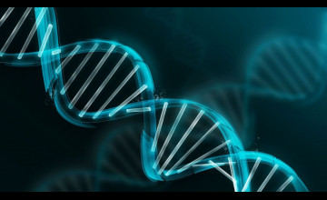 3D DNA Wallpaper