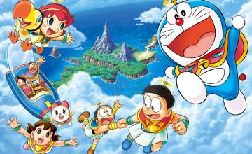 3D Doraemon Wallpaper