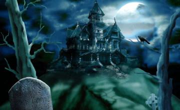 3D Halloween Wallpaper