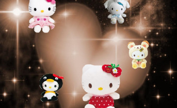 3D Hello Kitty Wallpaper