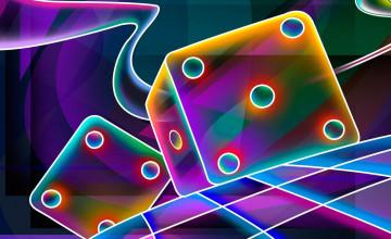 3D Neon Wallpaper