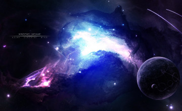 3D Outer Space Wallpaper