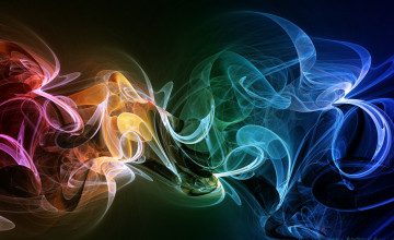 3D Smoke Wallpaper