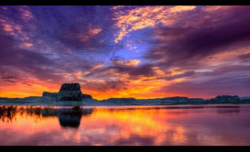 4K Sunset Wallpaper