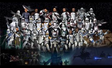 501st Clone Trooper Wallpaper