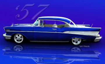 57 Chevy Desktop Wallpaper