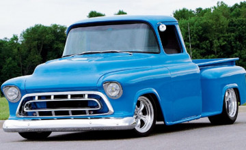 57 Chevy Truck Wallpaper