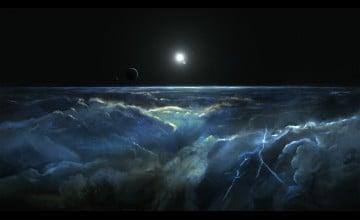 5K Space Wallpaper
