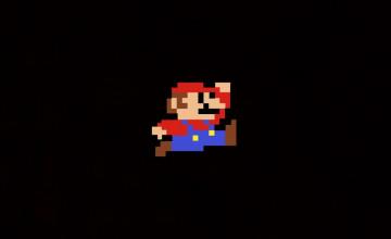 8 Bit Mario Wallpaper