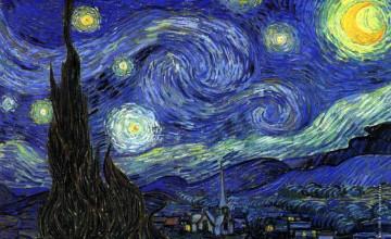 A Starry Night Wallpaper