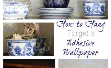Adhesive Wallpaper Target