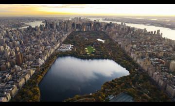 Aerial View Wallpaper