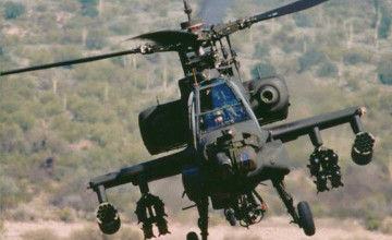 AH 64 Apache Helicopter Wallpaper