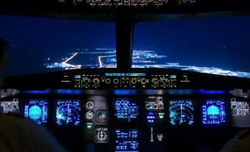 Airbus A380 Cockpit Wallpaper