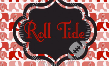 Alabama Football iPhone Wallpaper