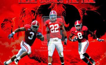Alabama Football Team Wallpaper