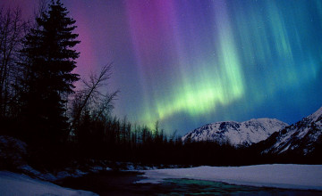 Alaska Night Sky HD Wallpaper