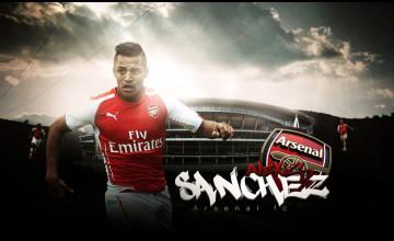 Alexis Sanchez Arsenal Wallpaper