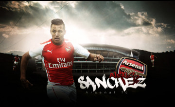 Alexis Sanchez Wallpaper Arsenal