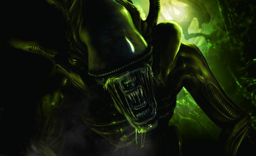 Alien Desktop Wallpaper