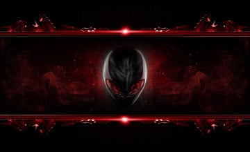 Alienware Red Wallpaper