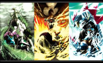 All Pokemon Games Wallpaper