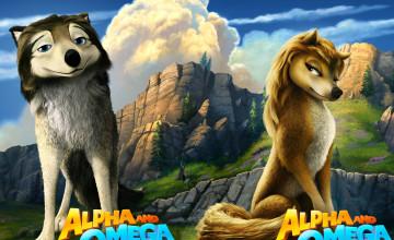Alpha and Omega Wallpaper