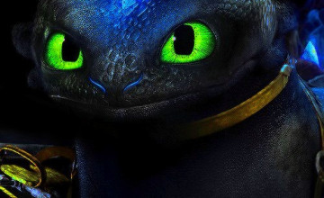 Alpha Toothless Wallpaper